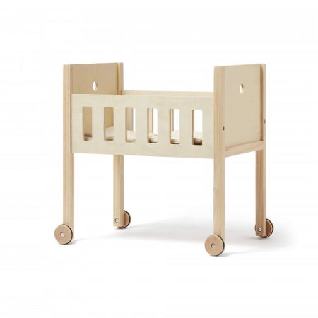 Kids Concept Puppenbett aus Holz Natur