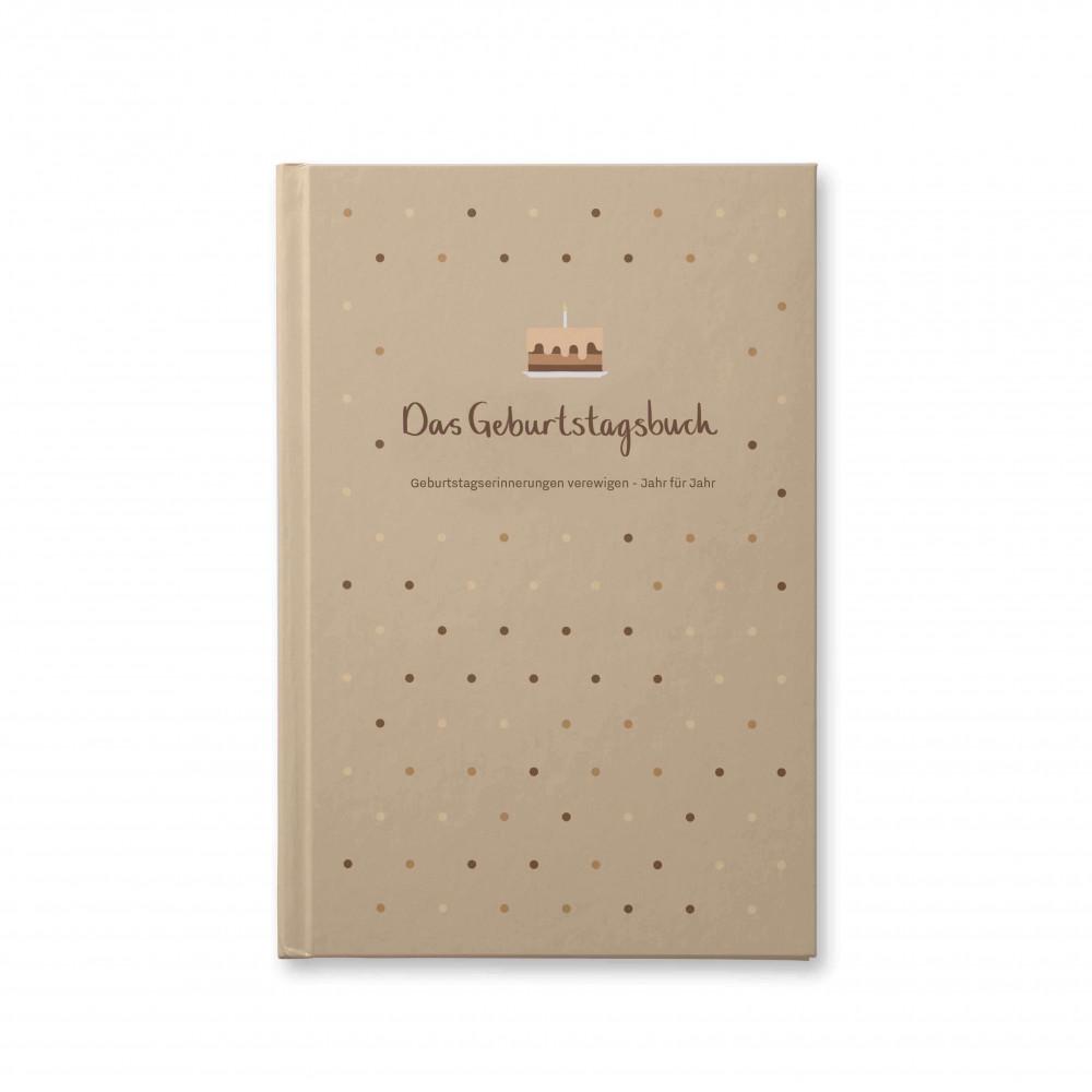 Withwhite Geburtstagsbuch