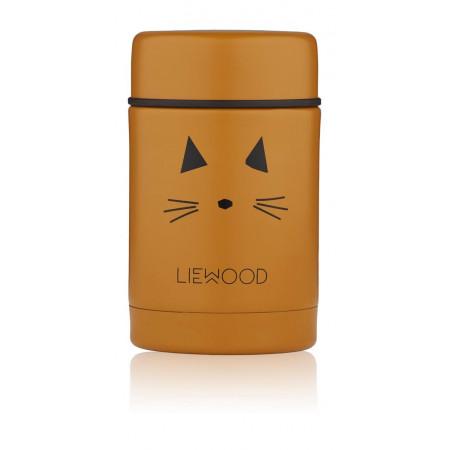 Liewood Thermobehälter Nadja Katze Gelb
