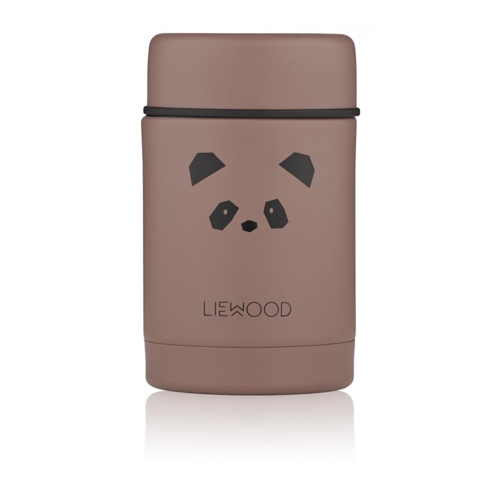 Liewood Thermobehälter Nadja Panda Dunkelrosa