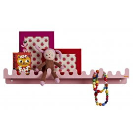 Roommate Kindergarderobe Doodle Drop pastell rosa