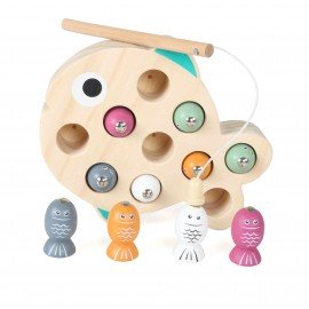 Magni Angelspiel aus Holz mit Magneten