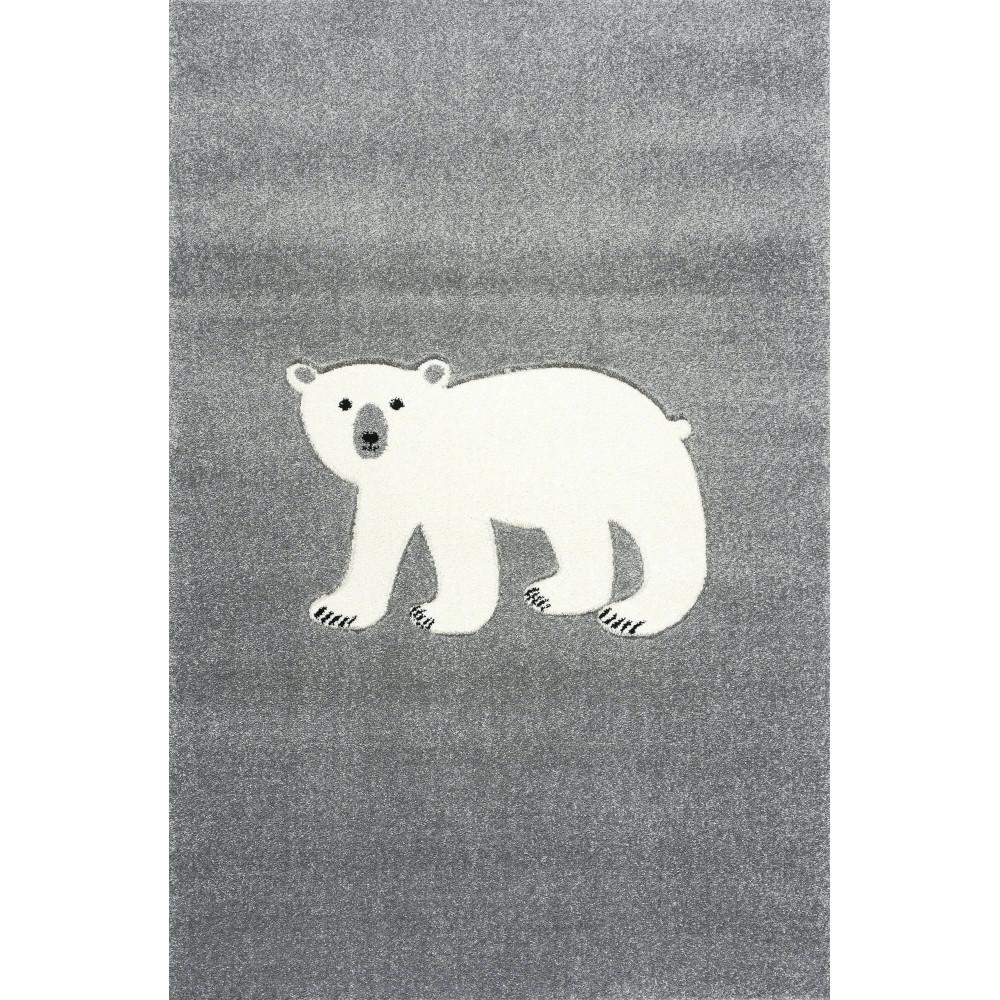 ScandicLiving Teppich, Eisbär silbergrau, 120x180 cm