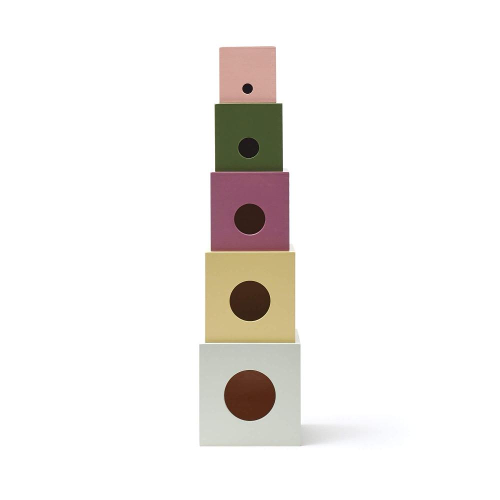 Kids Concept Stapelwürfel Edvin aus Holz