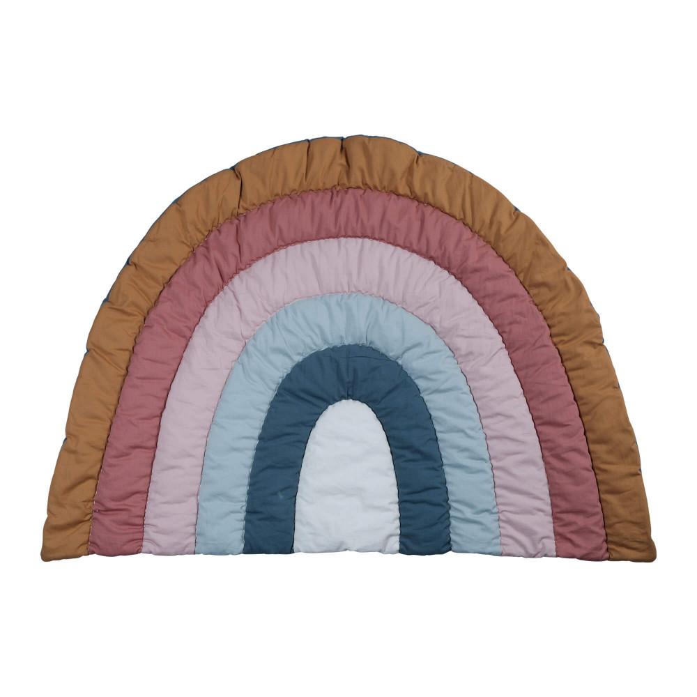 Fabelab Krabbeldecke Regenbogen 110 x 80cm