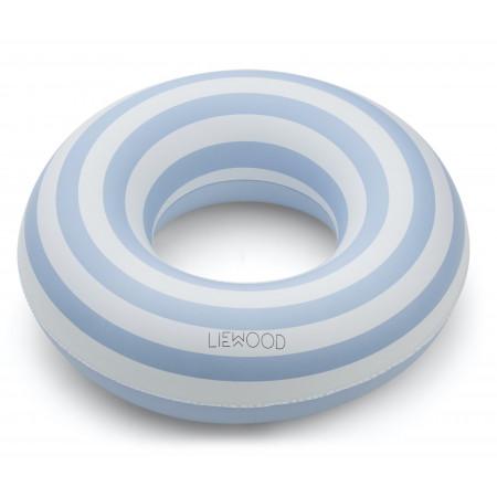 Liewood Schwimmreifen Baloo Blau / Creme gestreift