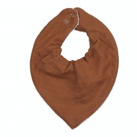 Fabelab Bandana-Lätzchen Bio-Baumwolle, Cinnamon