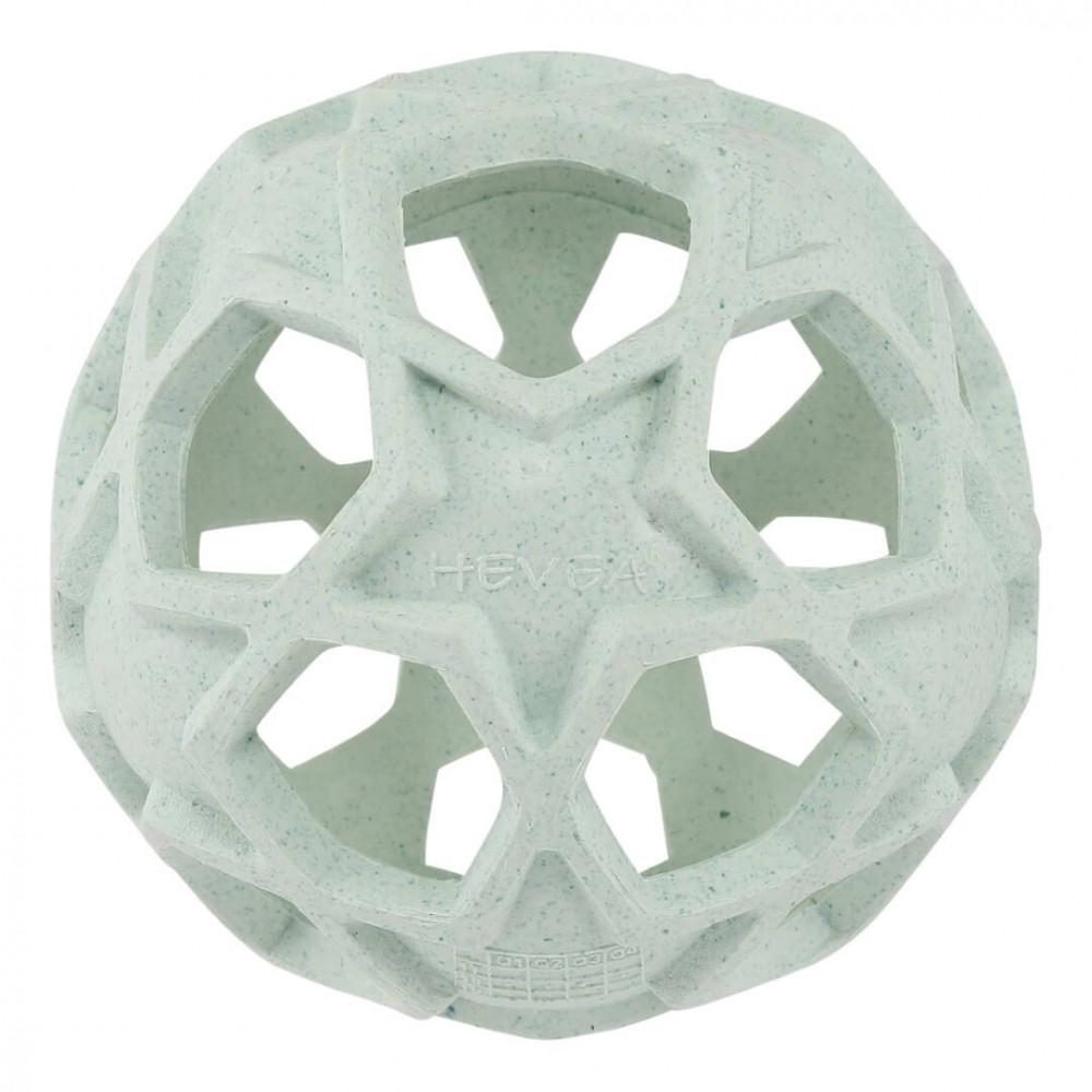 Hevea Star Ball aus Naturkautschuk / upcycled in mint