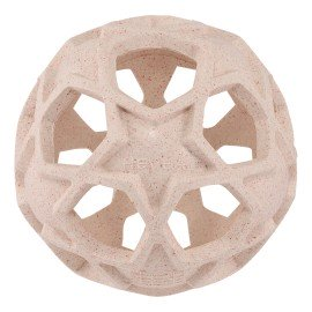 Hevea Star Ball aus Naturkautschuk / upcycled in rosa