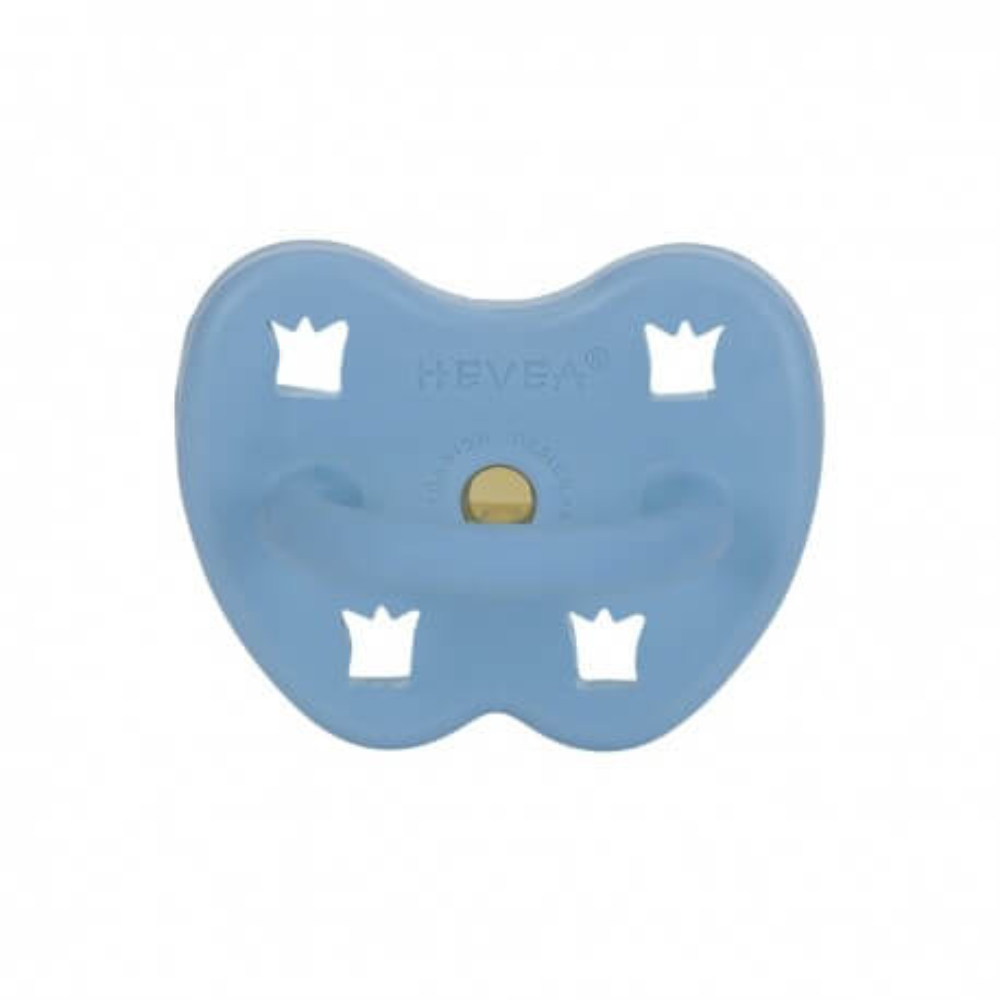 HEVEA Schnuller Skye Blue aus Naturkautschuk - kiefergerecht ab 3 Mon