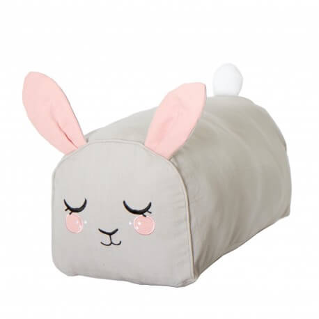 Roommate Pouf Hase, grey