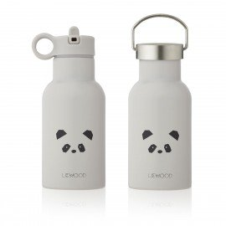 Liewood Trinkflasche Anker, Panda hellgrau