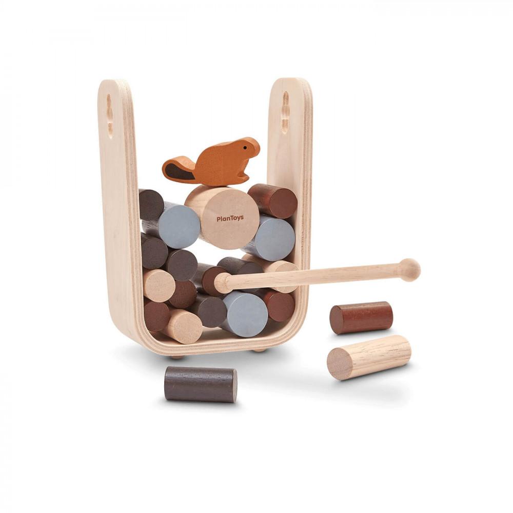PlanToys Holzspiel Timber Tumble