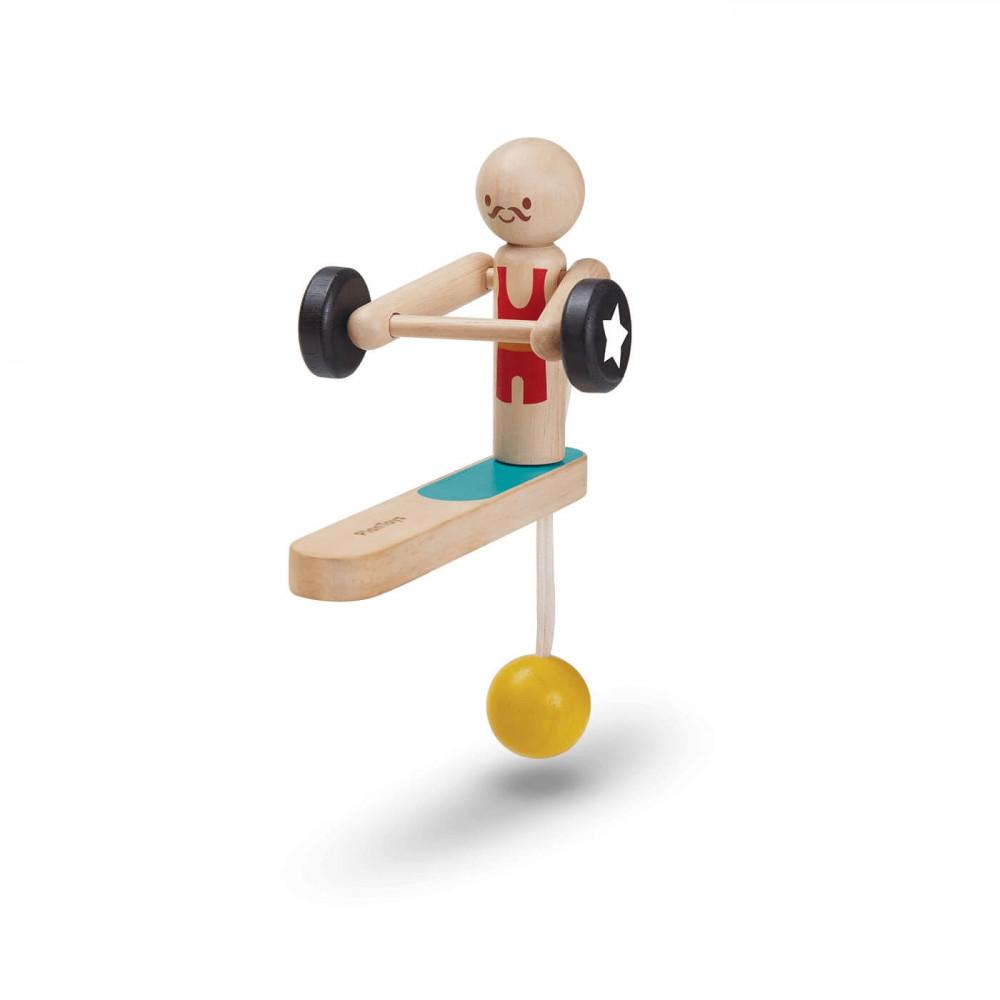 PlanToys Holzspiel Gewichtheber