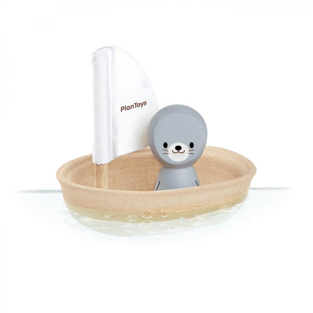 PlanToys Segelboot Robbe