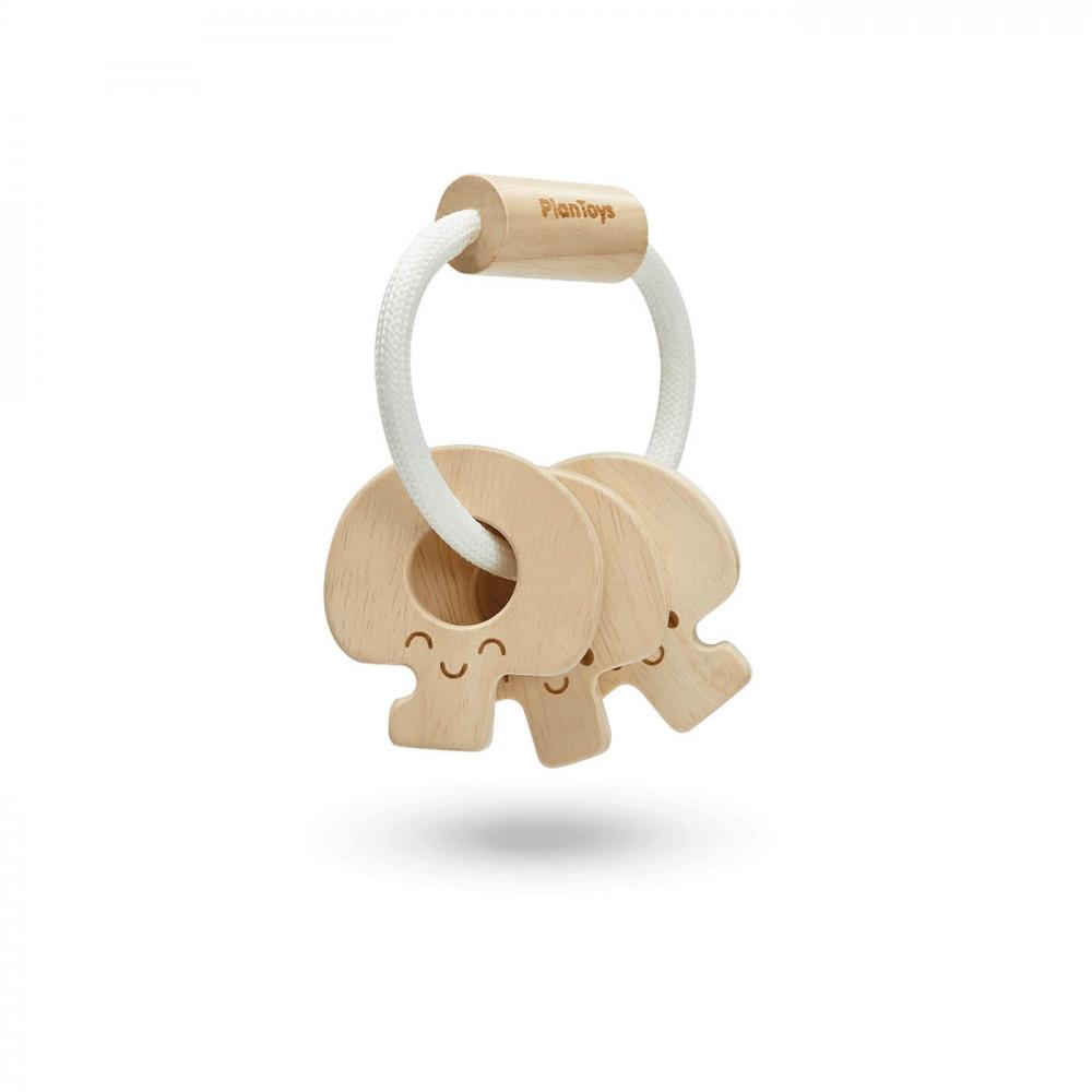 PlanToys Baby-Schlüsselrassel