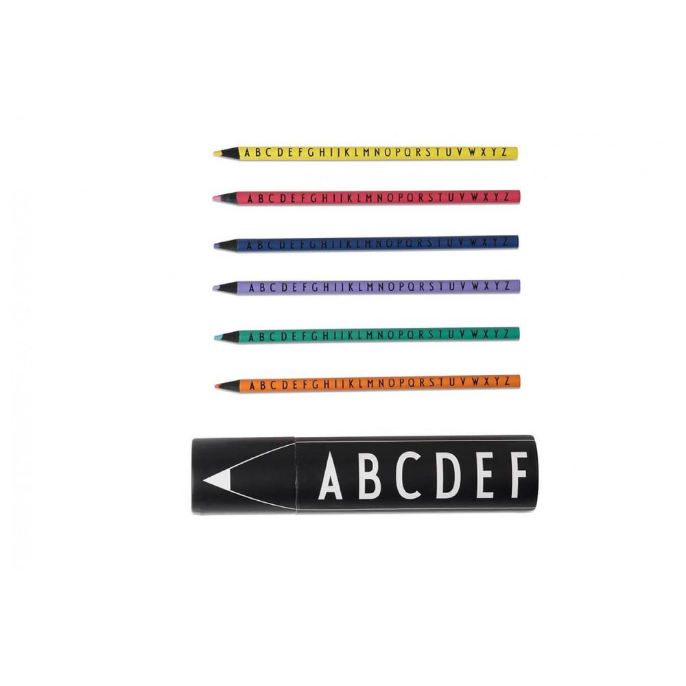 Design Letters Buntstifte Set mit 15 Farben