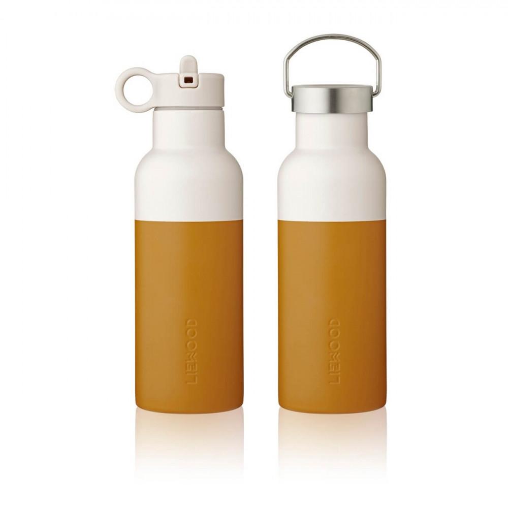 Liewood Trinkflasche Neo Mustard/sandy mix
