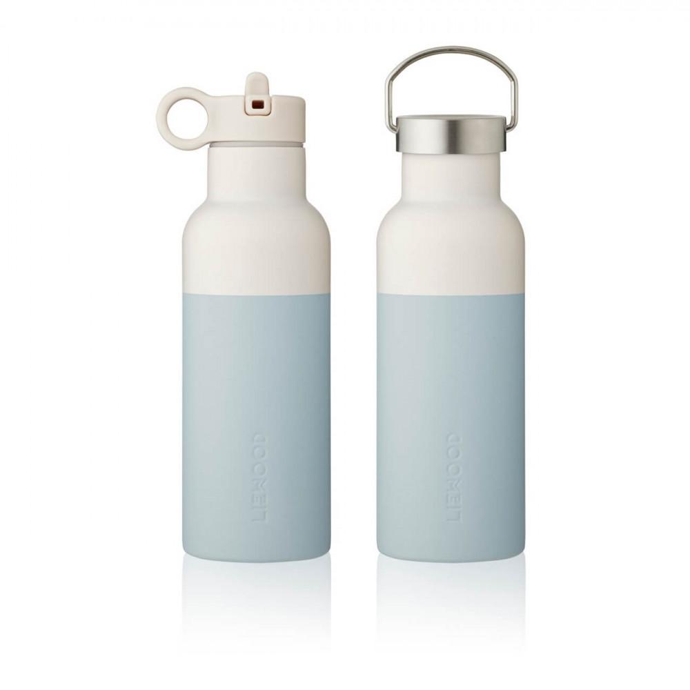 Liewood Trinkflasche Neo Sea blue/sandy mix