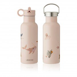 Liewood Trinkflasche Neo Sea creature rose mix