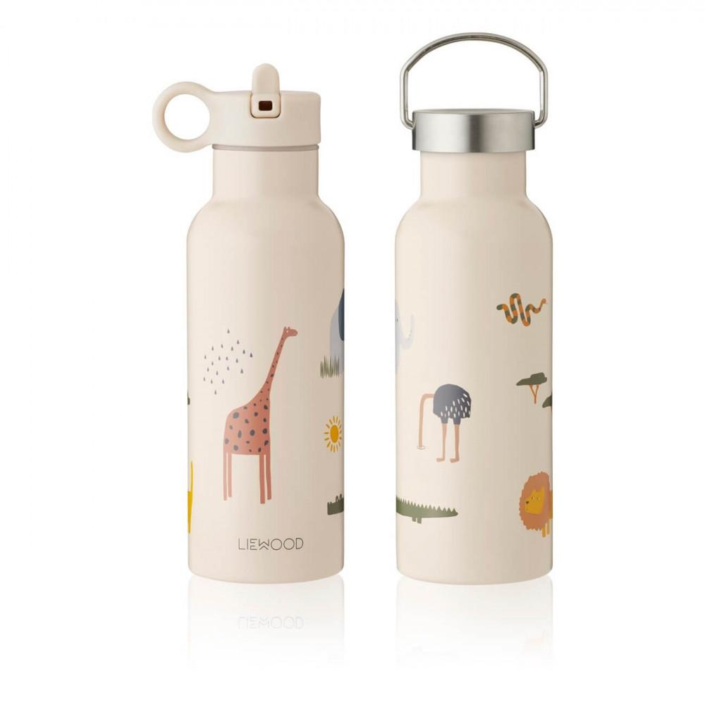 Liewood Trinkflasche Neo Safari sandy mix