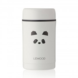 Liewood Thermobehälter Bernard Panda light grey