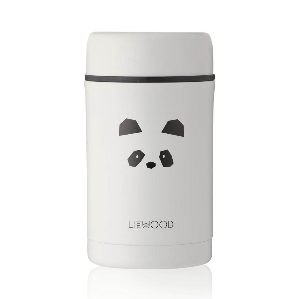 Liewood Thermobehälter Bernard Panda light grey