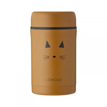 Liewood Thermobehälter Bernard Cat mustard
