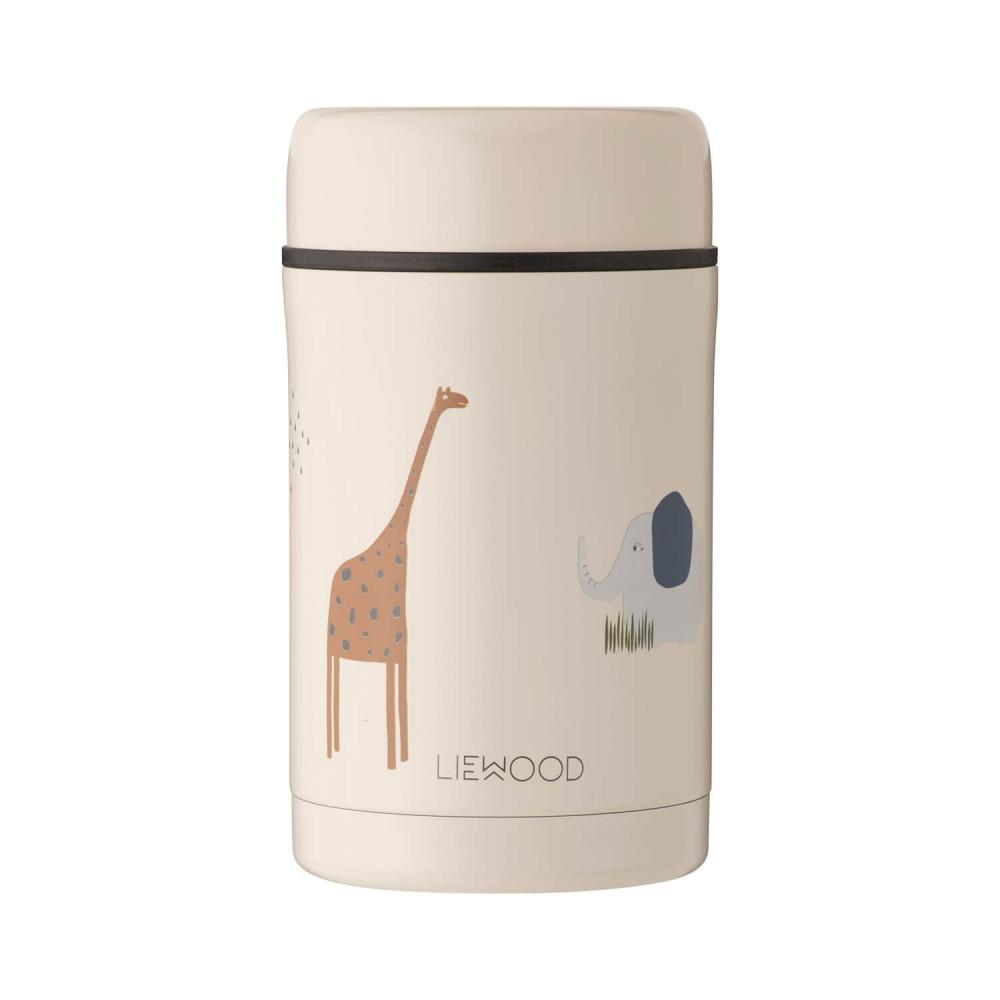 Liewood Thermobehälter Bernard Safari sandy mix