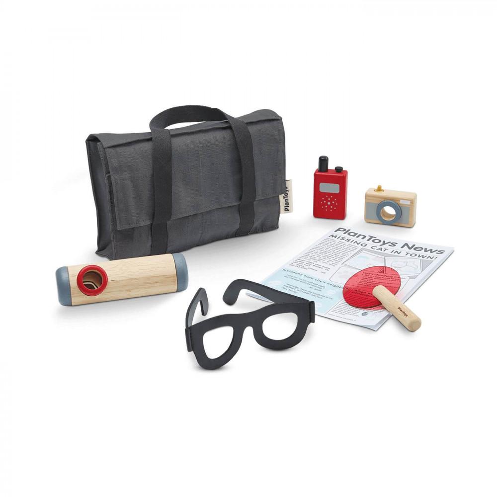 PlanToys Detektiv-Set