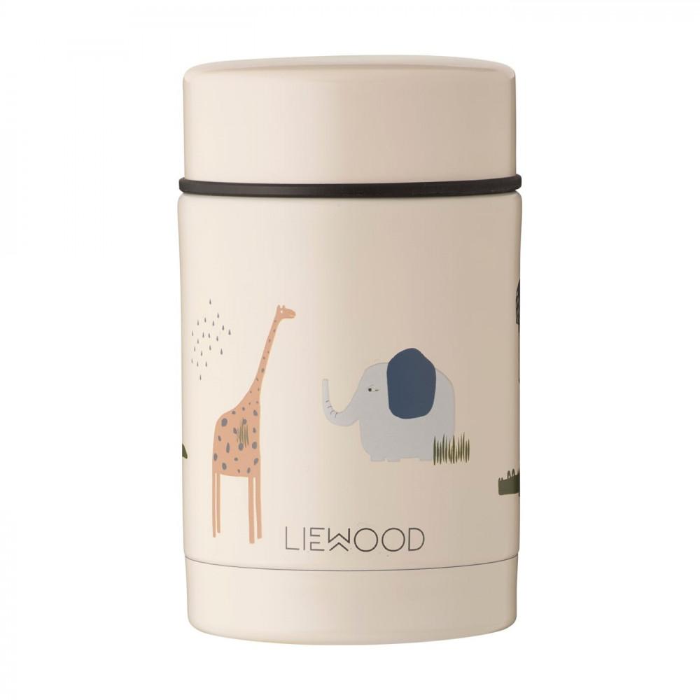 Liewood Thermobehälter Nadja Safari sandy mix