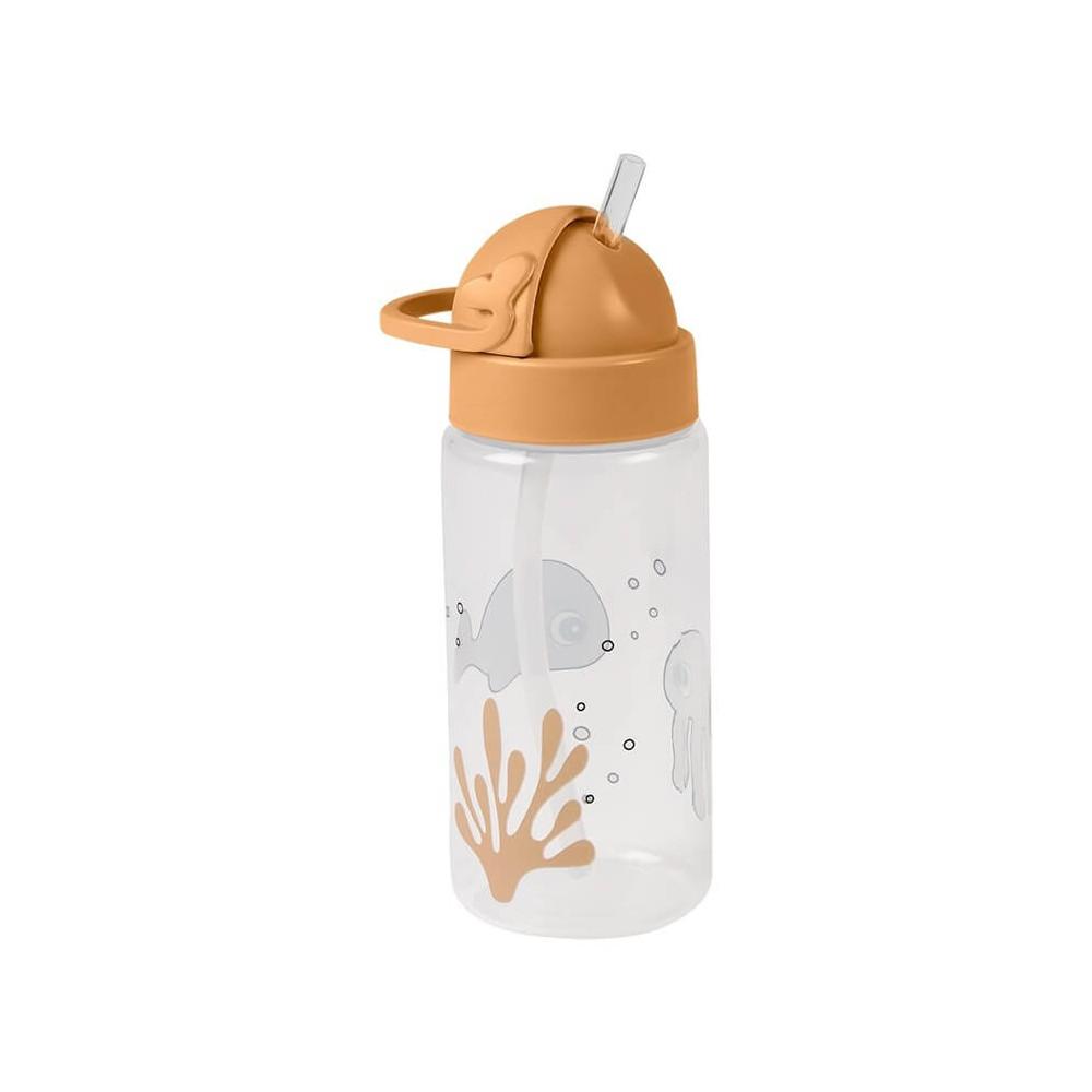 Done by Deer Kinder Trinkflasche Sea Friends, senfgelb