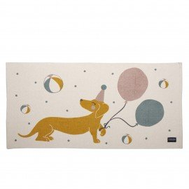 Roommate Teppich Magic Dog 140 x 70 cm, Baumwolle