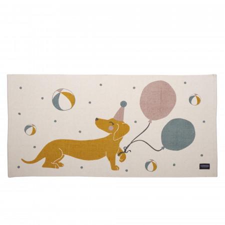 Roommate Teppich Magic Dog 140 x 70 cm, Baumwolle