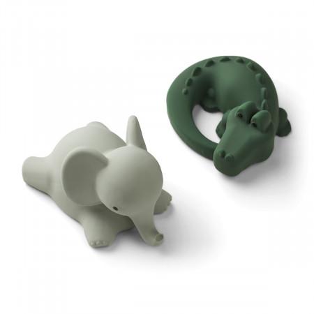 Liewood Badespielzeug Vikky - Safari green mix