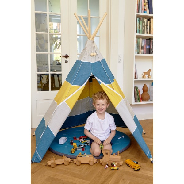 roommate hippie tipi zelt f r das kinderzimmer stone. Black Bedroom Furniture Sets. Home Design Ideas