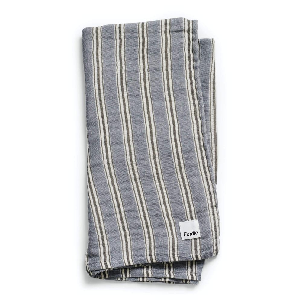 Elodie Details Bambus Musselin Tuch - Sandy stripe