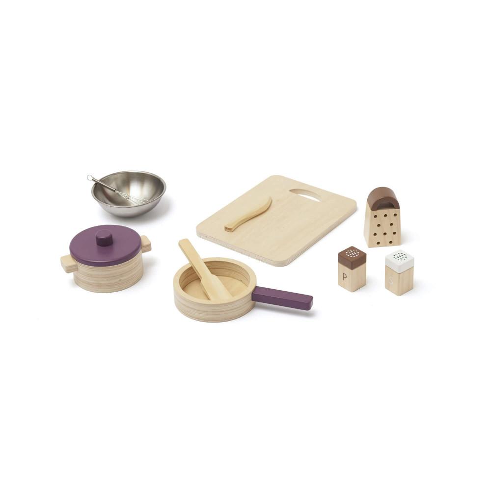 Kids Concept Küchenutensilien Set BISTRO aus Holz