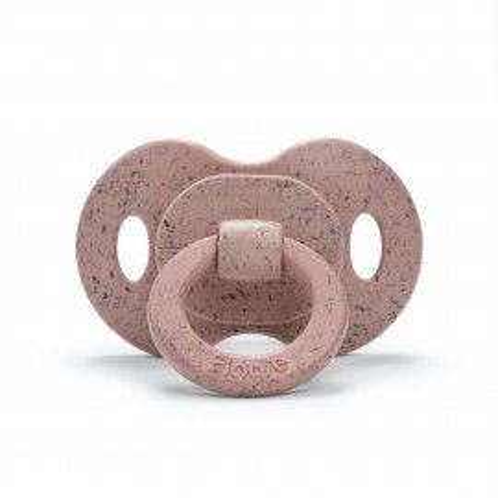 Elodie Details Bambus-Schnuller Silikon - Faded Rose