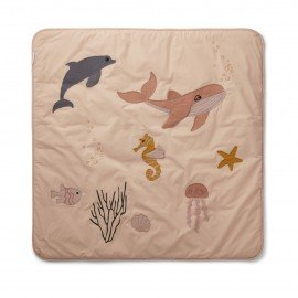 Liewood Activity-Spieldecke Glenn Sea creature rose mix