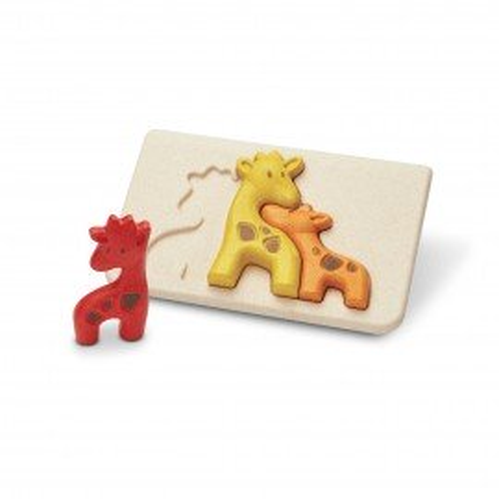 PlanToys Puzzle Giraffen aus Holz