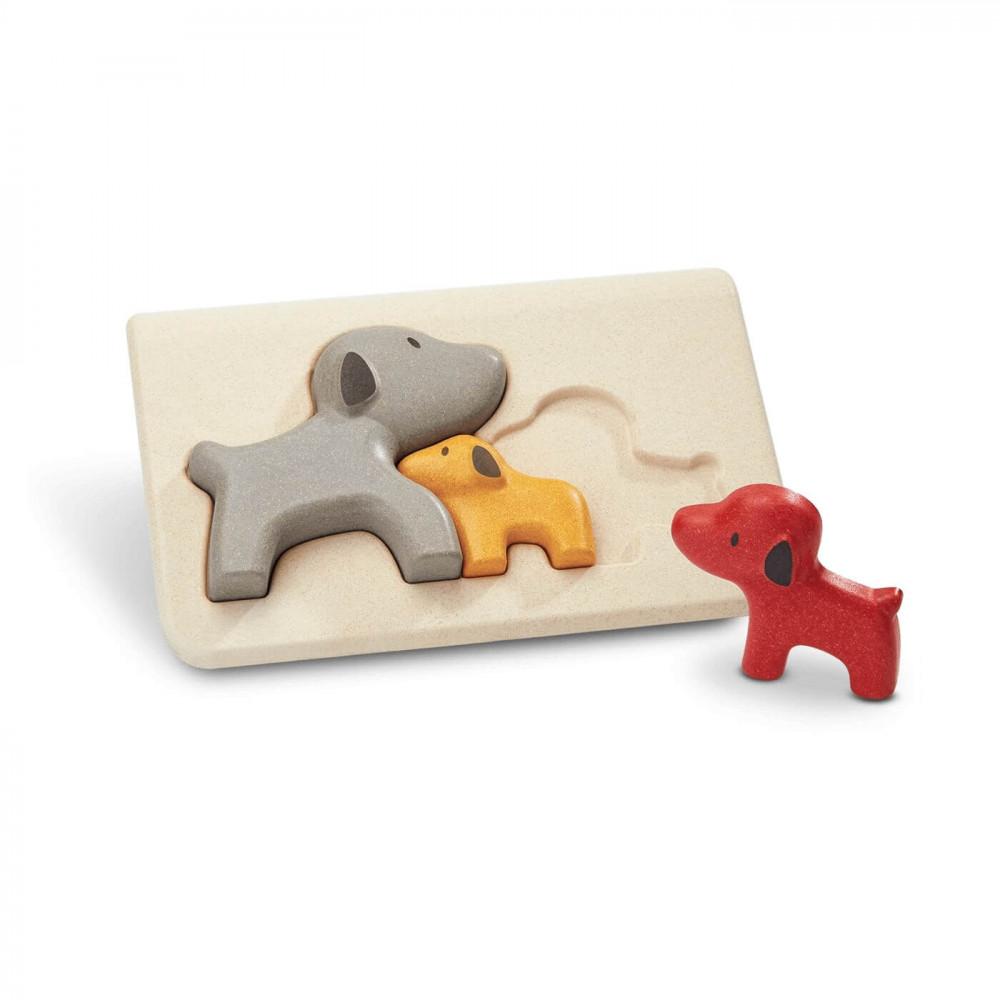PlanToys Puzzle Hunde